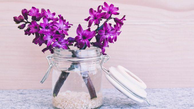 Tischdeko Blume